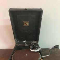 Gramófonos y gramolas: GRAMOLA LA VOZ DE SU AMO. Lote 133821399