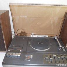 Gramófonos y gramolas: TOCADISCO Y CASSETTE VINTAGE PHILIPS FUNCIONA CORRECTAMENTE . Lote 134091358