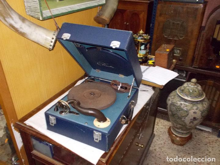 GRAMOFONO PHONOLA FUNCIONANDO (Radios, Gramófonos, Grabadoras y Otros - Gramófonos y Gramolas)