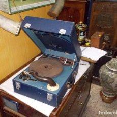 Gramófonos y gramolas: GRAMOFONO PHONOLA FUNCIONANDO. Lote 140914950