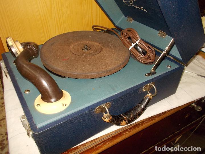 Gramófonos y gramolas: Gramofono phonola funcionando - Foto 9 - 140914950