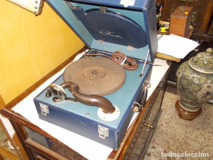 Gramófonos y gramolas: Gramofono phonola funcionando - Foto 10 - 140914950