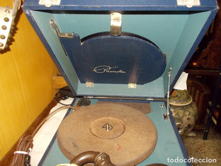 Gramófonos y gramolas: Gramofono phonola funcionando - Foto 14 - 140914950