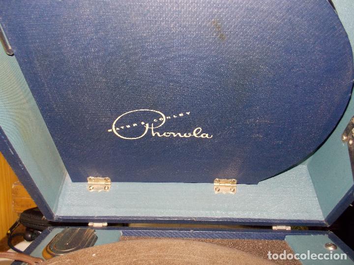 Gramófonos y gramolas: Gramofono phonola funcionando - Foto 16 - 140914950