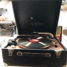 Gramófonos y gramolas: GRAMÓFONO EPL LE LUXE PHONIC DE MALETA PRINCIPIOS S. XX. Lote 143047762