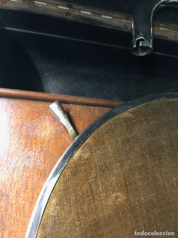 Gramófonos y gramolas: Gramófono EPL LE LUXE PHONIC de MALETA Principios s. XX FUNCIONA - Foto 22 - 143047762