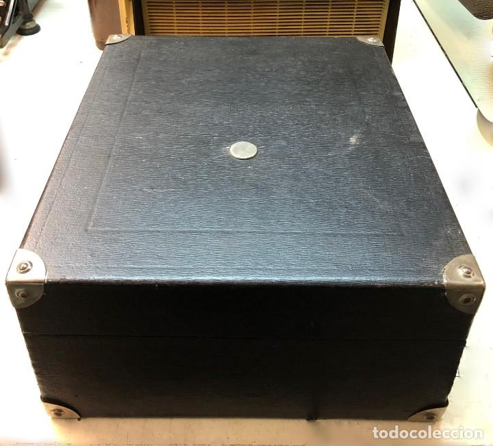 Gramófonos y gramolas: Gramófono EPL LE LUXE PHONIC de MALETA Principios s. XX FUNCIONA - Foto 28 - 143047762
