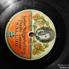 Gramófonos y gramolas: DISCO PIZARRA. PEPITA SAMPER. Lote 143558857
