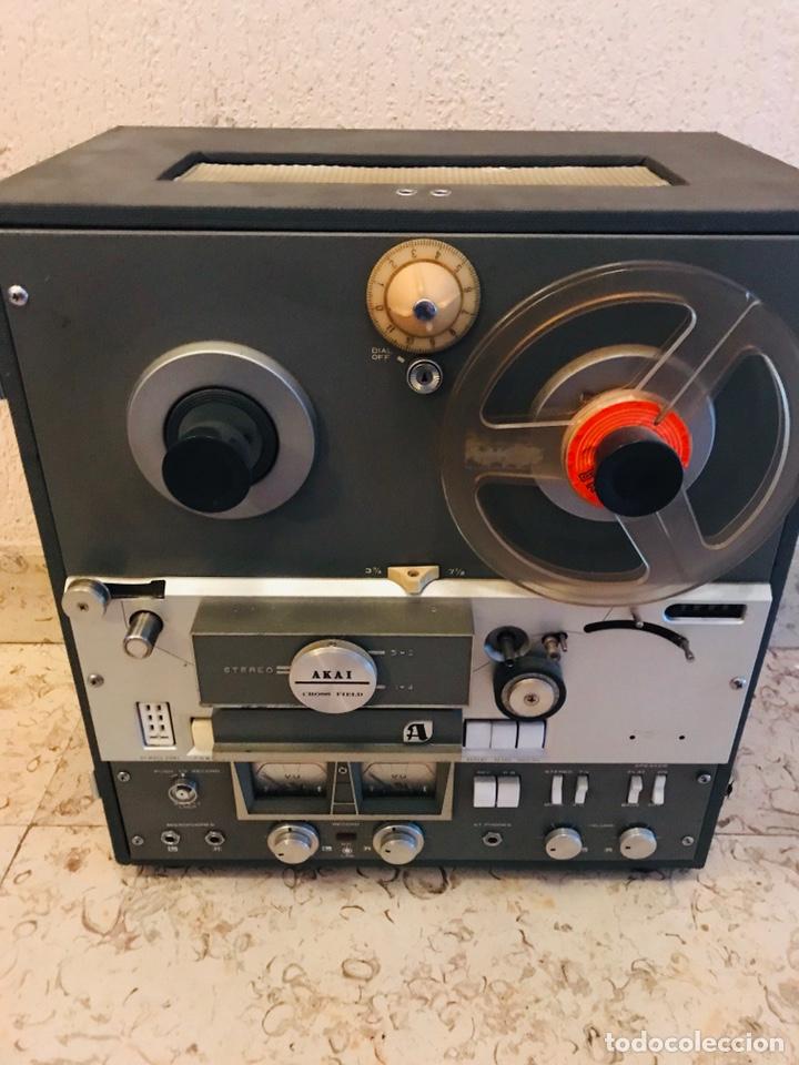 Gramófonos y gramolas: Magnetofón - AKAi X-360 - Foto 5 - 145195745
