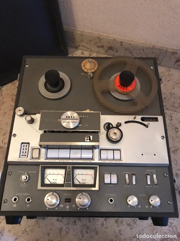Gramófonos y gramolas: Magnetofón - AKAi X-360 - Foto 6 - 145195745