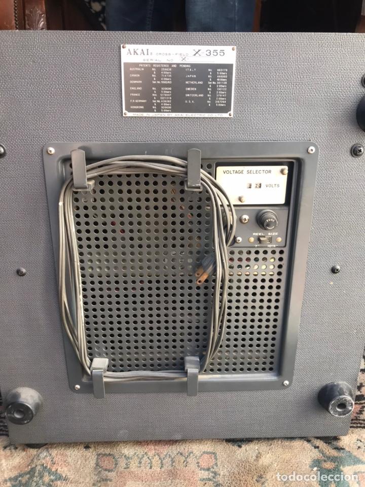 Gramófonos y gramolas: Magnetofón - AKAi X-360 - Foto 8 - 145195745