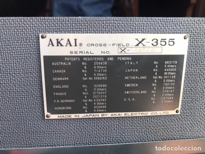 Gramófonos y gramolas: Magnetofón - AKAi X-360 - Foto 9 - 145195745