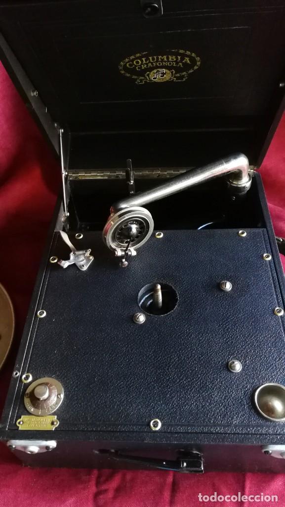 Gramófonos y gramolas: GRAMOFONO COLUMBIA GRAFONOLA, EXCELENTE ESTADO Y FUNCIONAMIENTO - Foto 2 - 145485098