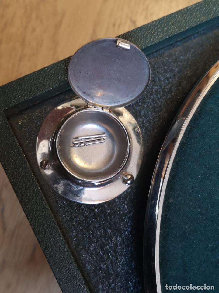 Gramófonos y gramolas: GRAMÓFONO ALEMÁN ODEON CON 11 DISCOS DE PIZARRA DE REGALO - Foto 4 - 145775130