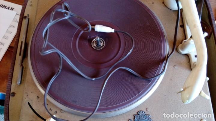 Gramófonos y gramolas: VESIV TOCADISCOS REX PERPETUUN ELNER PARA RESTAURAN SEGUN COMO EL ALTAVOZ HACE RUIDO - Foto 2 - 146250202