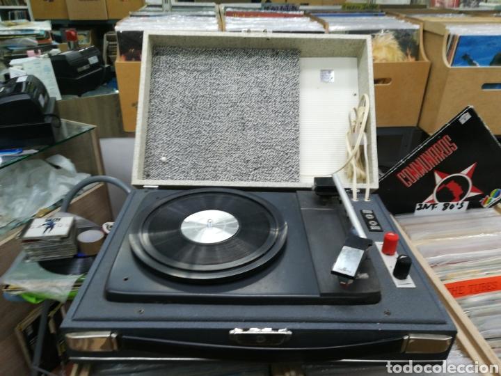 TOCADISCOS CONVER FUNCIONA PERFECTAMENTE (Radios, Gramófonos, Grabadoras y Otros - Gramófonos y Gramolas)