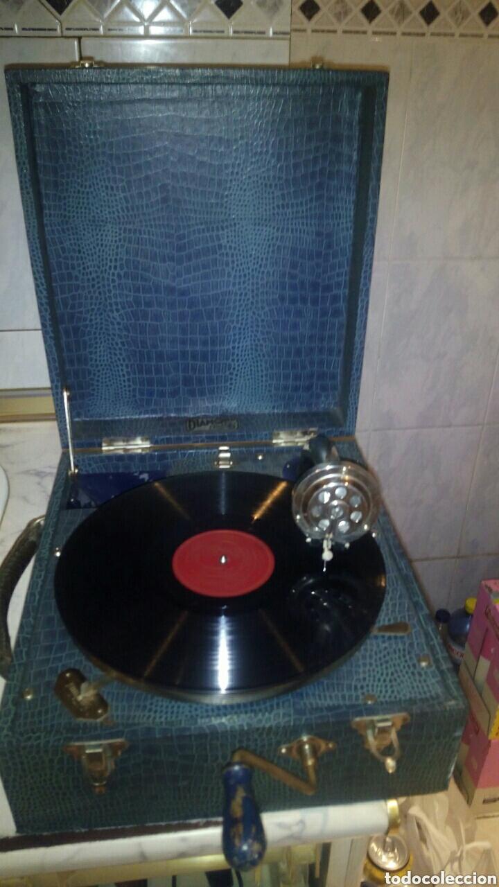 Gramófonos y gramolas: Antigua Gramola,(Funcionando) - Foto 2 - 146557325