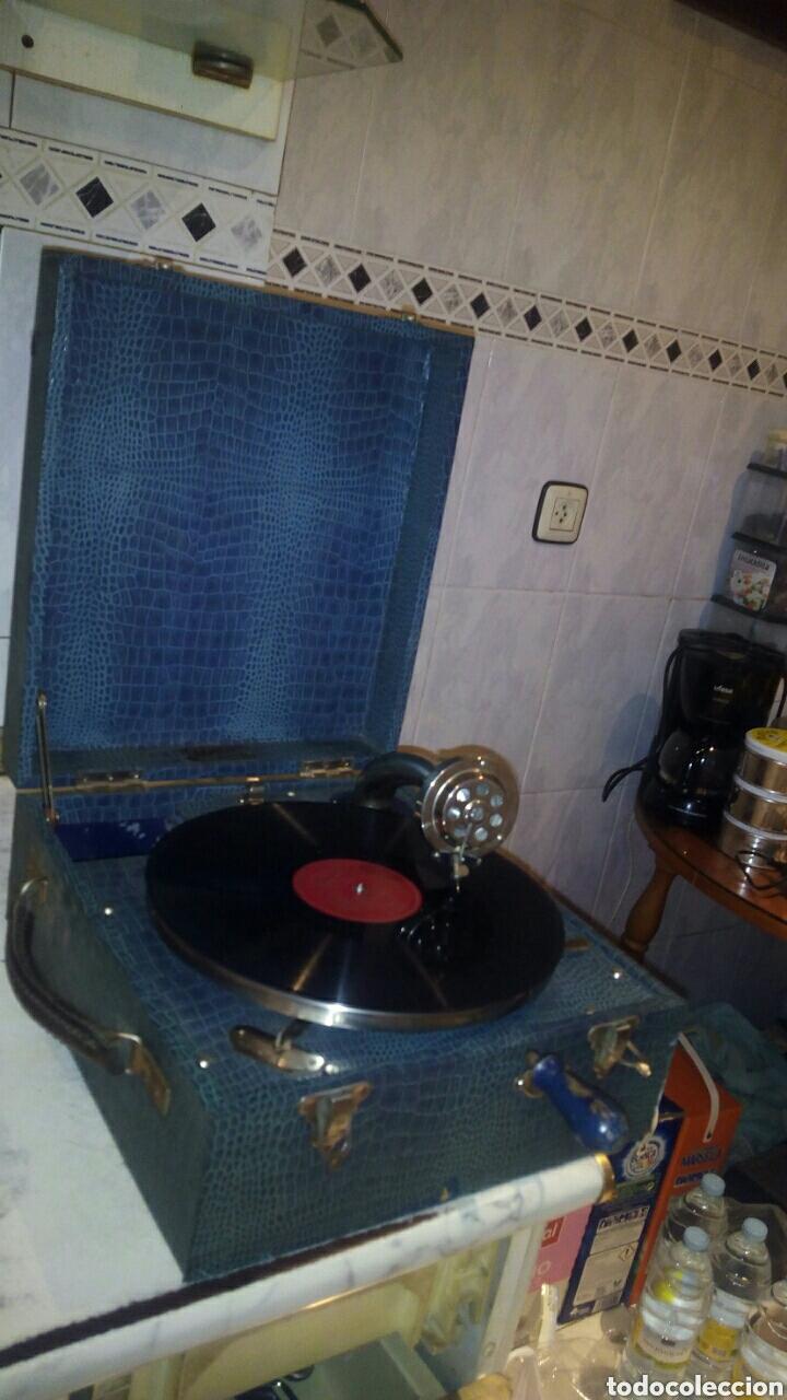 Gramófonos y gramolas: Antigua Gramola,(Funcionando) - Foto 3 - 146557325