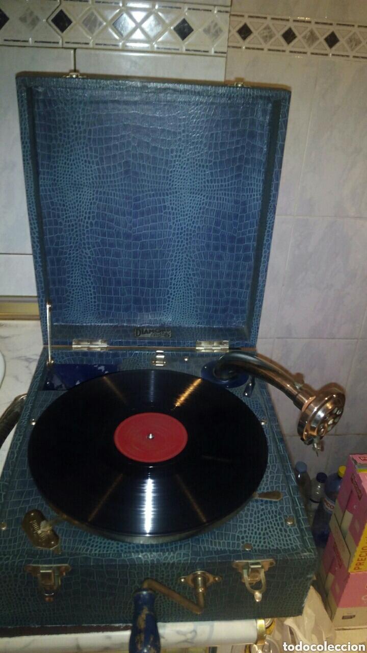 Gramófonos y gramolas: Antigua Gramola,(Funcionando) - Foto 7 - 146557325