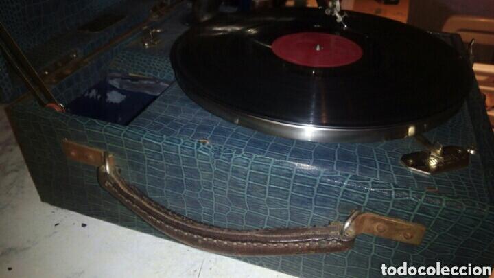 Gramófonos y gramolas: Antigua Gramola,(Funcionando) - Foto 10 - 146557325