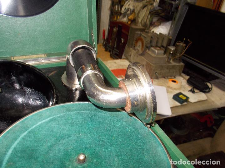 Gramófonos y gramolas: Gramola salabert funcionando - Foto 2 - 146915458