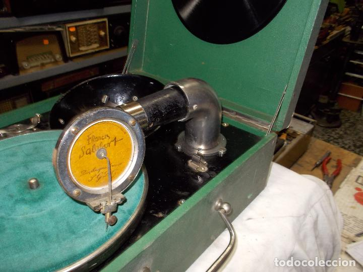 Gramófonos y gramolas: Gramola salabert funcionando - Foto 3 - 146915458