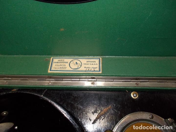 Gramófonos y gramolas: Gramola salabert funcionando - Foto 4 - 146915458