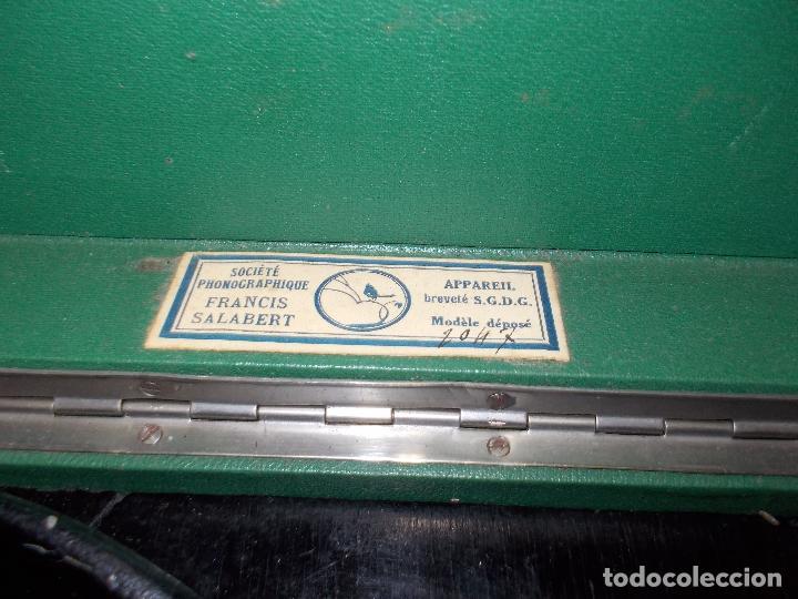 Gramófonos y gramolas: Gramola salabert funcionando - Foto 5 - 146915458