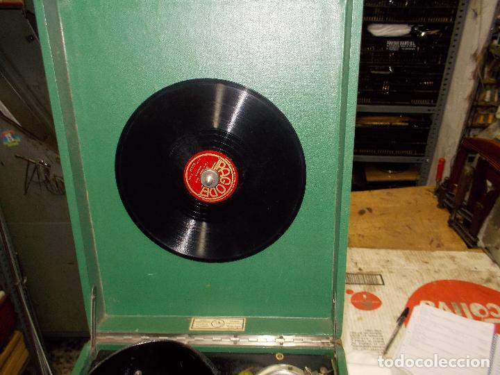 Gramófonos y gramolas: Gramola salabert funcionando - Foto 6 - 146915458