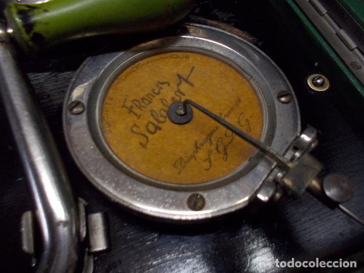 Gramófonos y gramolas: Gramola salabert funcionando - Foto 7 - 146915458