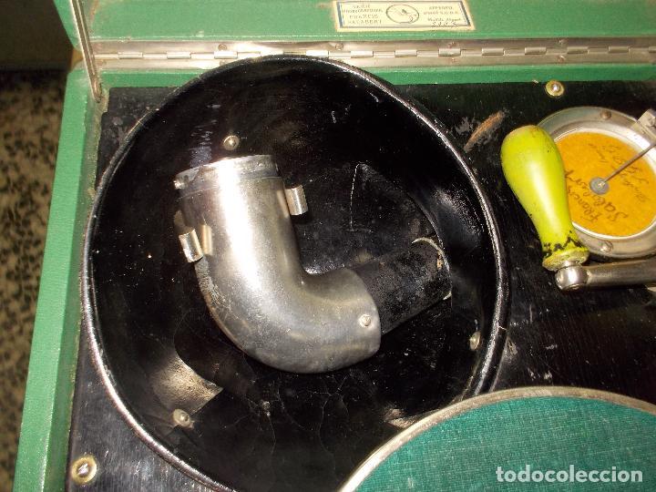 Gramófonos y gramolas: Gramola salabert funcionando - Foto 10 - 146915458