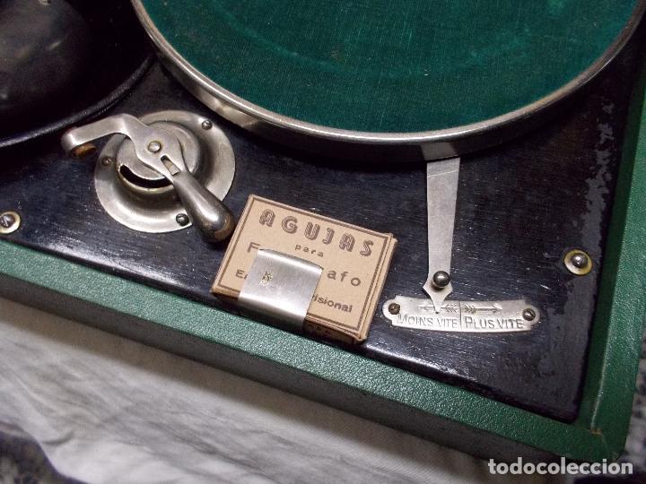 Gramófonos y gramolas: Gramola salabert funcionando - Foto 11 - 146915458