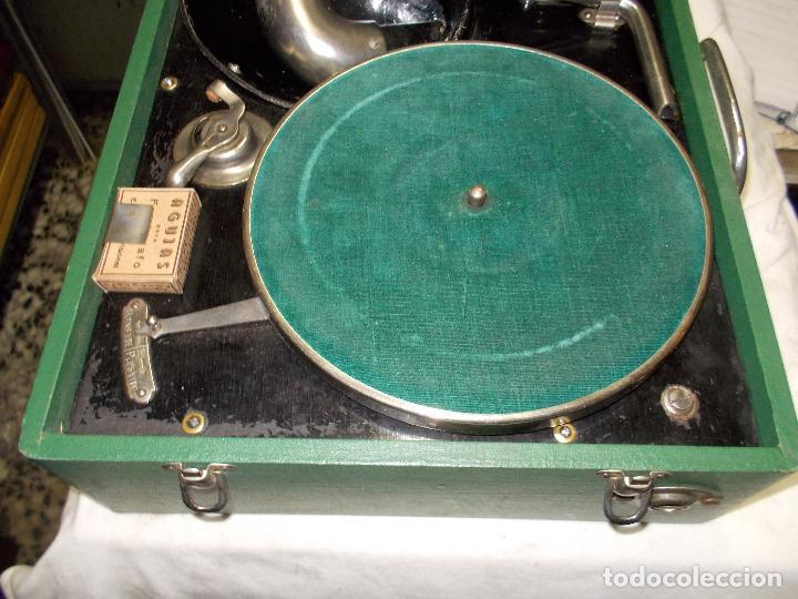 Gramófonos y gramolas: Gramola salabert funcionando - Foto 12 - 146915458