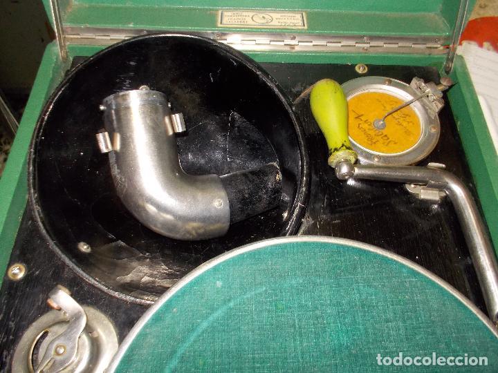 Gramófonos y gramolas: Gramola salabert funcionando - Foto 13 - 146915458