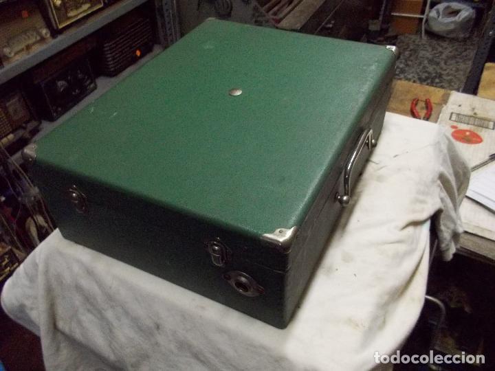 Gramófonos y gramolas: Gramola salabert funcionando - Foto 19 - 146915458