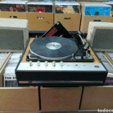 Gramófonos y gramolas: TOCADISCOS BETTOR DUAL 1010 MARK 210S FUNCIONA. Lote 147014976
