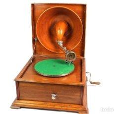 Gramófonos y gramolas: ANTIGUO GRAMOFONO DE SOBREMESA PATHE-ORIGINAL-COLECIONISTAS-. Lote 147903258