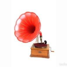 Gramófonos y gramolas: ANTIGUO GRAMOFONO DE TROMPETA PATHE -ORIGINAL-COLECIONISTAS-. Lote 147905834