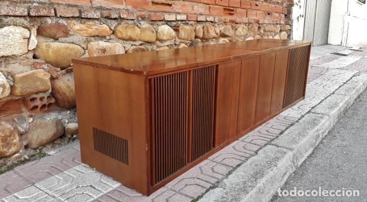 Gramófonos y gramolas: Mueble tocadiscos antiguo Grundig. Aparador antiguo tocadiscos, magnetofono antiguo, radio antigua. - Foto 7 - 150284458