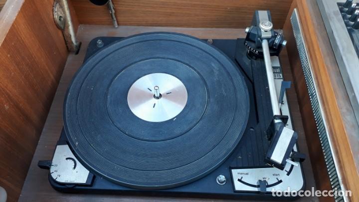 Gramófonos y gramolas: Mueble tocadiscos antiguo Grundig. Aparador antiguo tocadiscos, magnetofono antiguo, radio antigua. - Foto 15 - 150284458