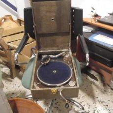 Gramófonos y gramolas: ANTIGUO GRAMOFONO G.IAMAN FILS,MOULINS. Lote 151254406