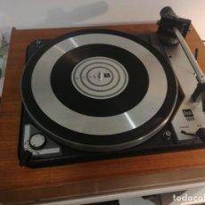 Gramófonos y gramolas: TOCADISCOS DUAL 1019, CUERPO DE MADERA DE TECA. UNA JOYA , SONIDO DE ALTISIMA CALIDAD!. Lote 151515338
