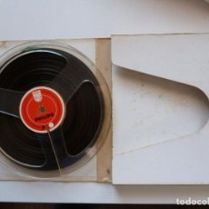 Gramófonos y gramolas: BOBINA BASF PARA MAGNETOFONO 18 CM. 7 PULGADAS. Lote 192836045