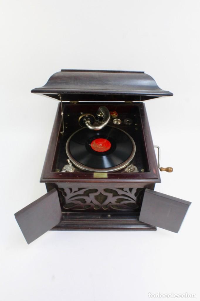 GRAMOLA ARMONIC SALON LUCARDA .PRINCIPIOS DE SIGLO XX. (Radios, Gramófonos, Grabadoras y Otros - Gramófonos y Gramolas)