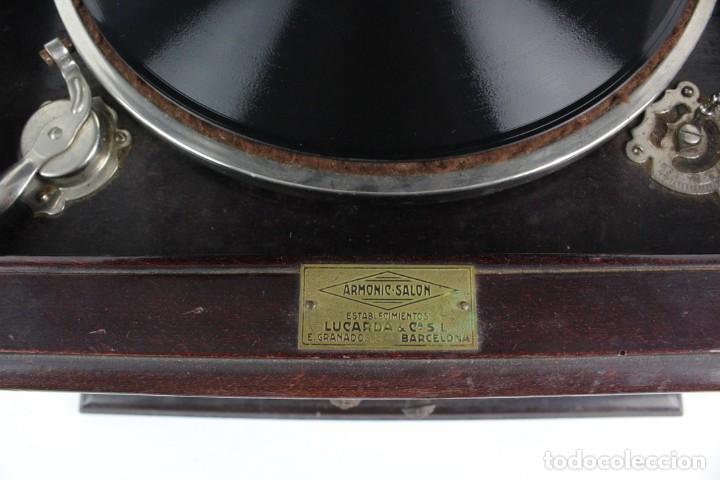 Gramófonos y gramolas: GRAMOLA ARMONIC SALON LUCARDA .PRINCIPIOS DE SIGLO XX. - Foto 10 - 152737242