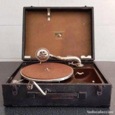 Gramófonos y gramolas: GRAMÓFONO LA VOIX DE SON MAÎTRE. Lote 152824630
