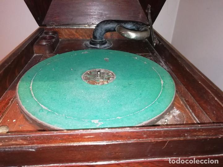 Gramófonos y gramolas: VITROLA VICTOR. PRINCIPIOS DE SIGLO XX. PARA DECORACION .ADMITO OFERTAS. - Foto 12 - 153187054