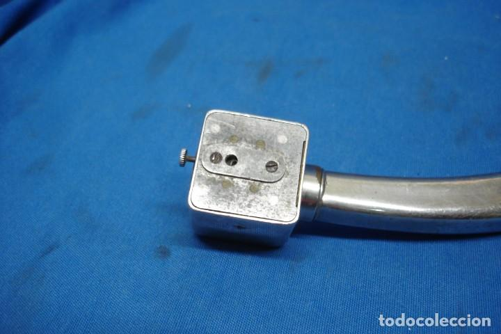 Gramófonos y gramolas: -ANTIGUO BRAZO DE METAL MARCA DUAL - Foto 5 - 155248554