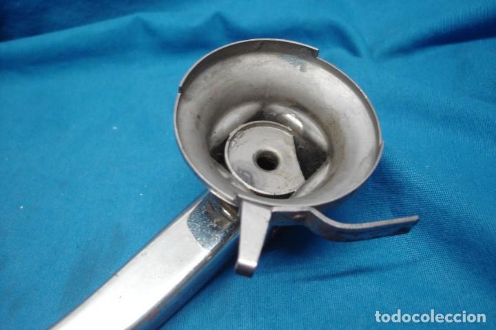 Gramófonos y gramolas: -ANTIGUO BRAZO DE METAL MARCA DUAL - Foto 6 - 155248554