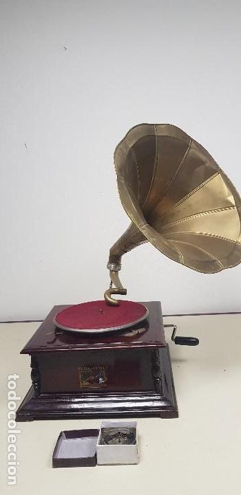Gramófonos y gramolas: 419- GRAMOFONO LA VOZ DE SU AMO - Foto 2 - 155902014